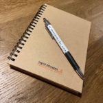 boekje en pen